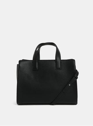 Čierna kabelka s nastaviteľným popruhom Pieces Fenne