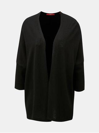 Cardigan de dama negru cu maneci 3/4 s.Oliver