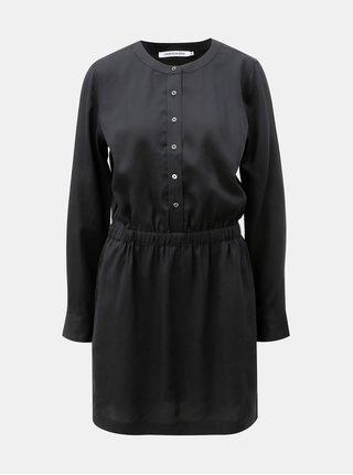 Černé košilové šaty Calvin Klein Jeans