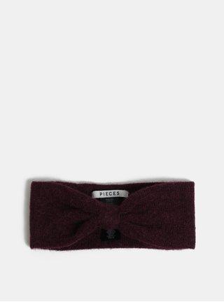 Bentita mov cu amestec de lana Pieces Josefine