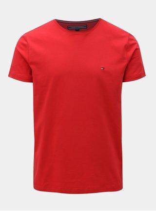 Červené pánske slim fit tričko Tommy Hilfiger