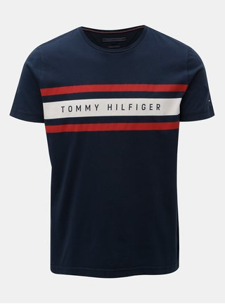 Modré pánske tričko Tommy Hilfiger
