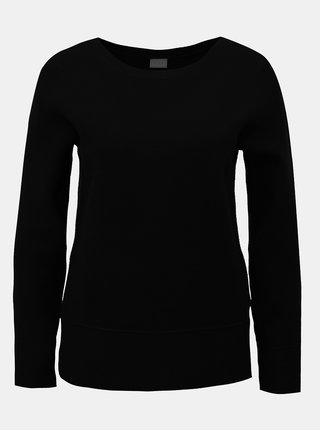 Pulover negru cu maneci lungi VILA Livina