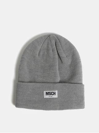 Svetlosivá vlnená čiapka Moss Copenhagen Mojo
