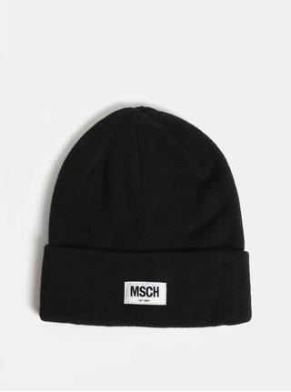 Čierna vlnená čiapka Moss Copenhagen Mojo