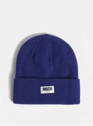 Modrá vlnená čiapka Moss Copenhagen Mojo