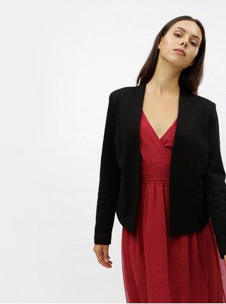 Černé sako s kapsami VERO MODA Gail