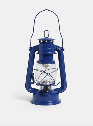 Tmavě modrá LED lucerna Kaemingk