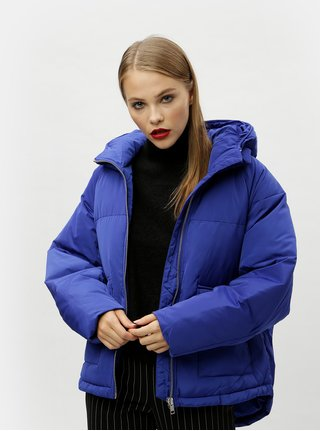 Modrá zimní bunda Moss Copenhagen Filia