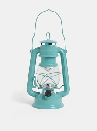 Zelený LED lampáš Kaemingk