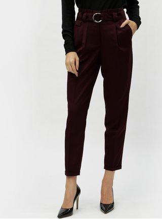 Pantaloni crop visinii cu talie inalta VERO MODA Delfina