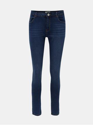 Modré skinny džíny Dorothy Perkins Ashley