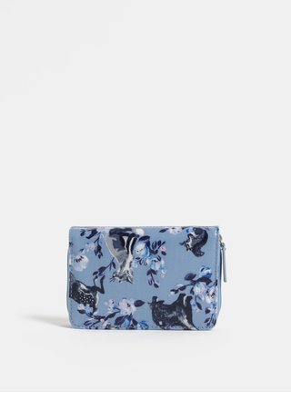 Modrá vzorovaná peňaženka Cath Kidston
