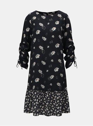 Tmavomodré kvetované šaty Cath Kidston