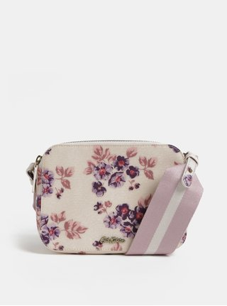 Ružová-béžová dámska kvetovaná kabelka Cath Kidston