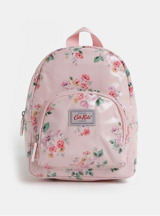 Ružový dievčenský kvetovaný batoh Cath Kidston