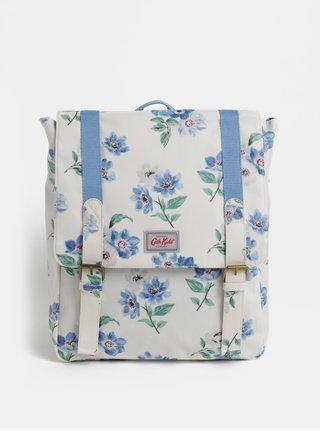 Modro-krémový holčičí květovaný batoh Cath Kidston
