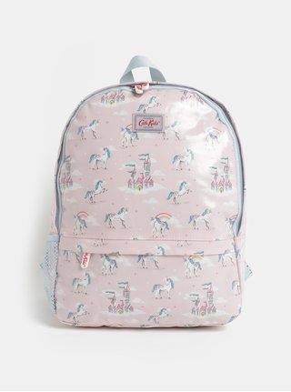 Světle růžový batoh s motivem jednorožců Cath Kidston