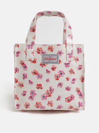 Krémová dievčenská kvetovaná kabelka Cath Kidston