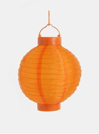 Oranžový solární lampión Kaemingk
