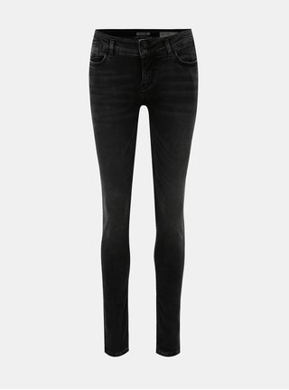Čierne dámske super slim fit rifle Garcia Jeans