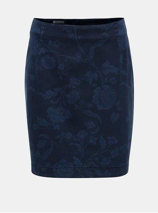 Tmavomodrá rifľová sukňa Garcia Jeans