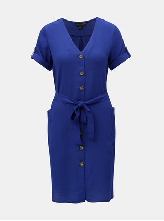 Modré košilové šaty Dorothy Perkins