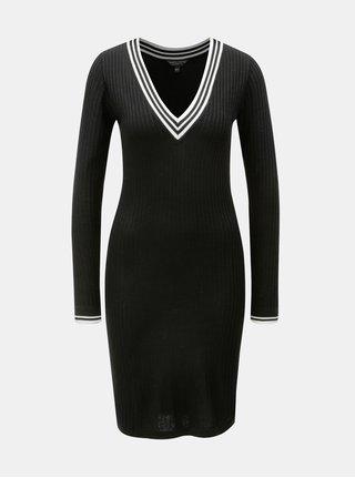Rochie neagra tricotata Dorothy Perkins
