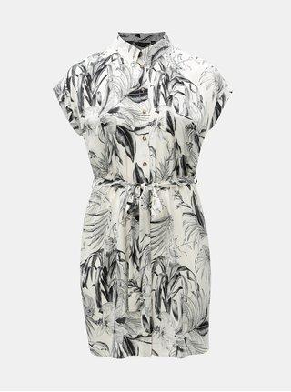 c82556a6910 Čierno–biele vzorované košeľové šaty Dorothy Perkins Curve