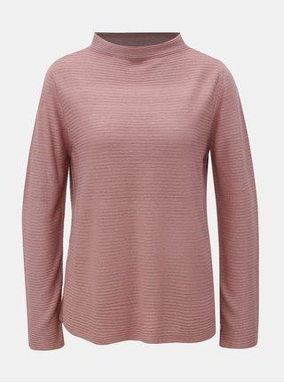 Starorůžový svetr se stojáčkem Jacqueline de Yong