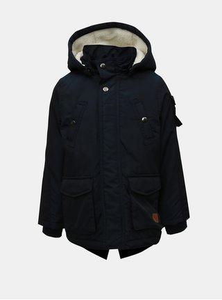 Tmavomodrá chlapčenská zimná bunda Name it Madoc
