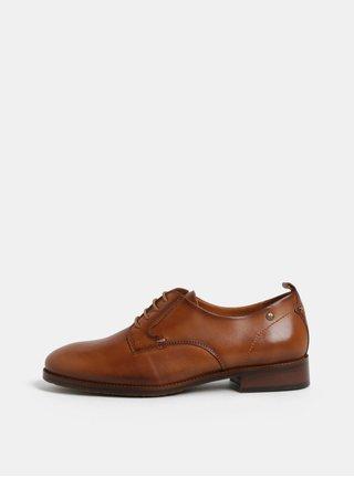 Pantofi maro din piele naturala Pikolinos Brandy