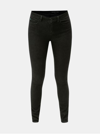 Blugi negri skinny fit din denim Noisy May Lucy