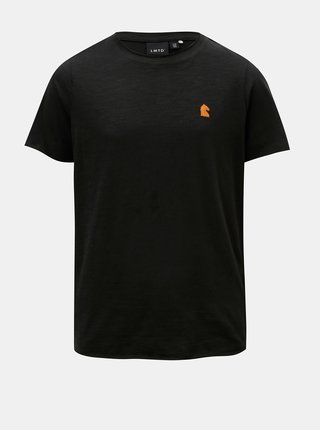 Čierne chlapčenské tričko s krátkym rukávom LIMITED by name it