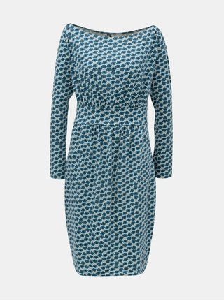 Tyrkysové vzorované šaty Tranquillo Mimi