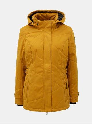 Jacheta de dama de iarna impermeabila mustar killtec