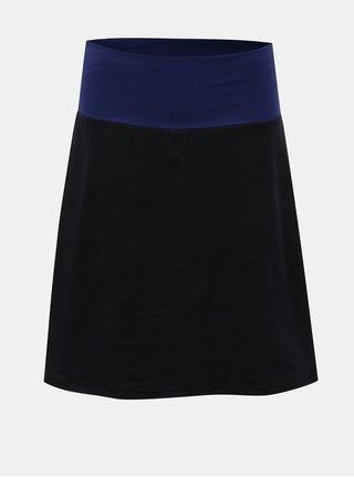 Modro-čierna sukňa Tranquillo Cama