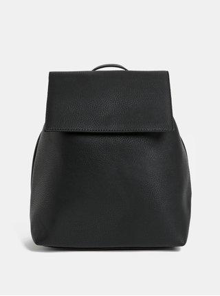 Čierny elegantný vakový batoh Pieces