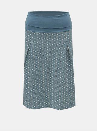 Modrá vzorovaná sukňa Tranquillo Carman