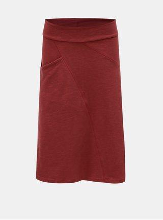 Tehlová sukňa s vreckom Tranquillo Fortuna