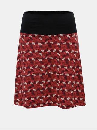 Červená vzorovaná sukně Tranquillo Cama