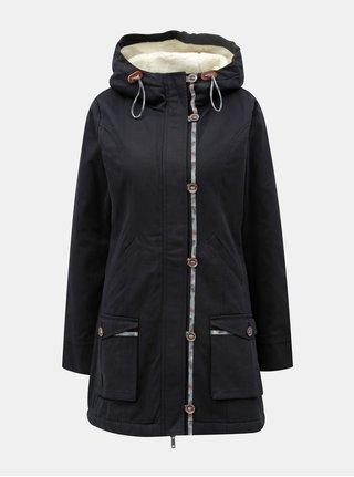 Černý kabát Tranquillo Brigit