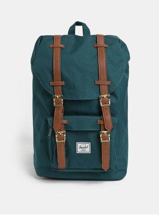 Tmavozelený batoh Herschel Little America Mid 17 l