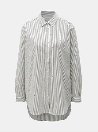 Modro–biela pruhovaná košeľa Scotch & Soda