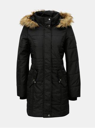 Černý kabát VERO MODA Idol