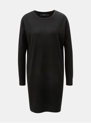 Černé svetrové šaty VERO MODA Karis