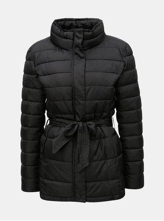 Černá prošívaná zimní bunda Jacqueline de Yong Harper