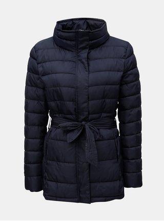 Tmavě modrá zimní prošívaná bunda Jacqueline de Yong Harper