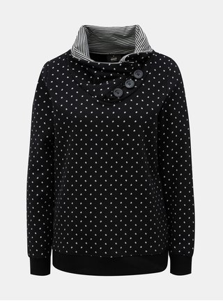 Bluza sport neagra cu model si nasturi ONLY Nadine