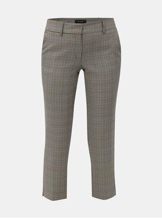 c009ca7aee7f Béžovo-sivé kárované nohavice Dorothy Perkins